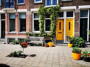 Geveltuin Showroom - Rakstraat Rotterdam