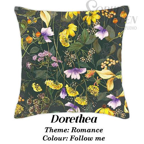 Dorethea Scatter Romance Green