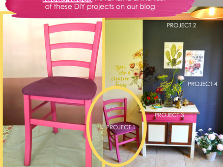 IDEAS MAGAZINE Jan/Feb: CHAIR DIY