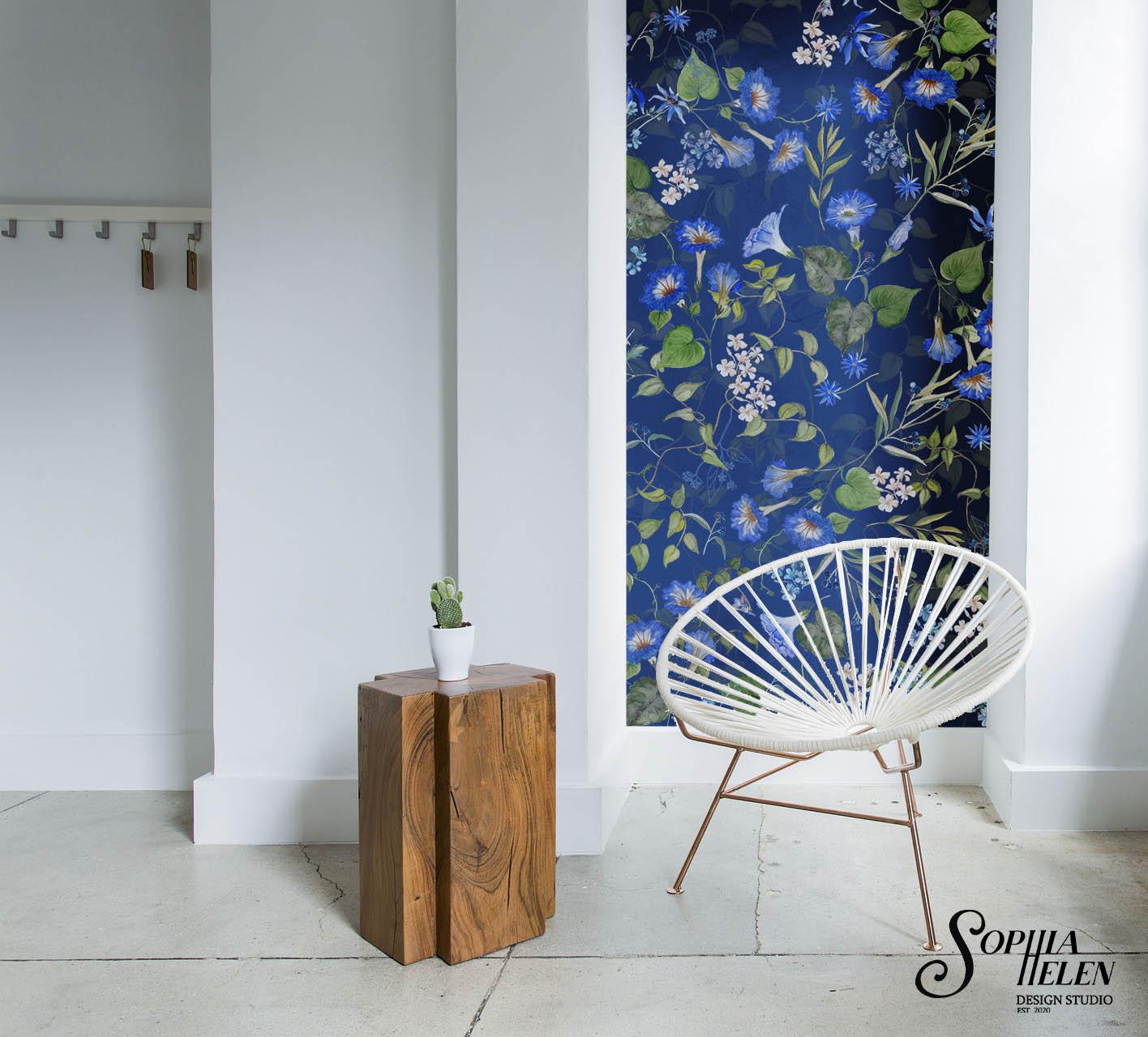 SophiaHelen wallpaper strip Lindelee Rom