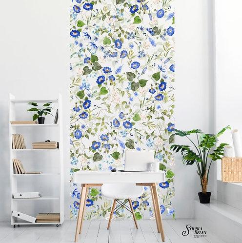 Wallpaper Strip / Lindelee / Romance / White