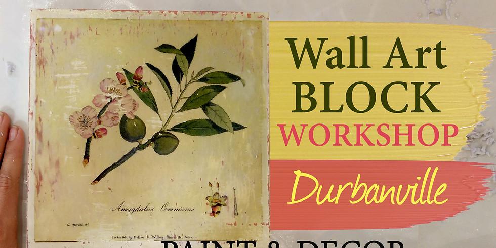Wall Art Blocks Workshop (Durbanville)