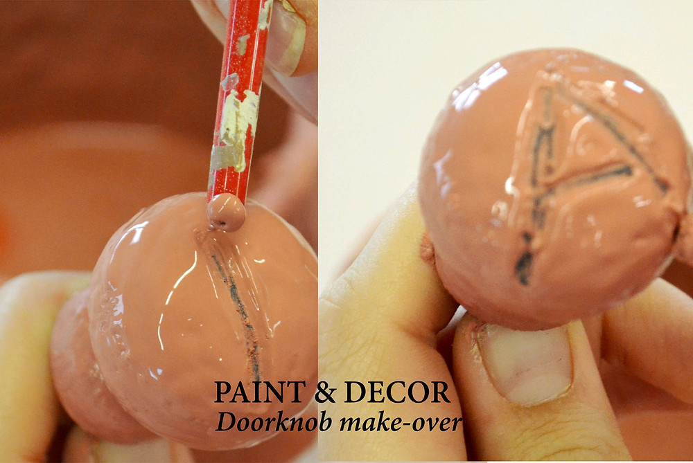 Carve any detail into the wet paint