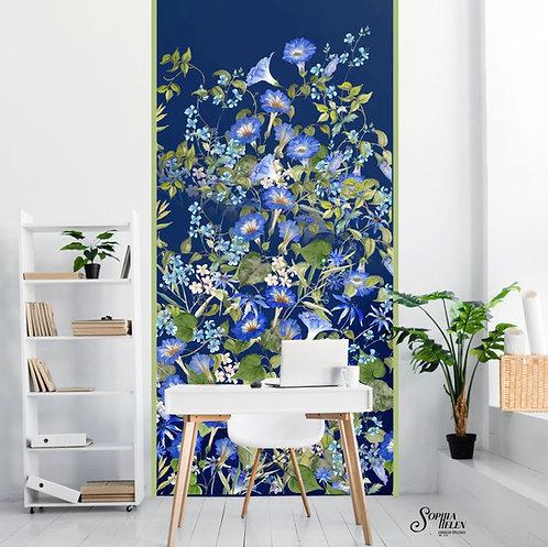Wallpaper Strip / Lindelee / Wild / Big Blue