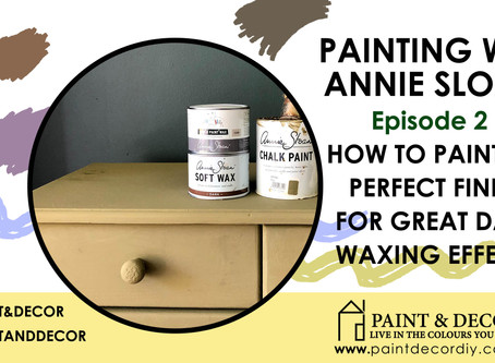 How to paint with Chalk Paint: Episode 2 - Creating the perfect base coat for Dark Wax.