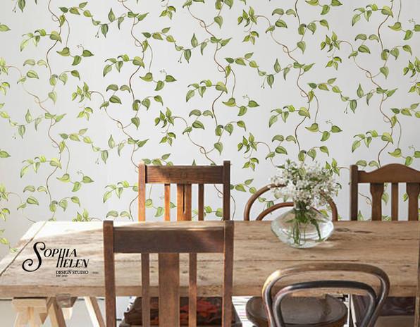 Lindelee echo wallpaper diningroom.jpg