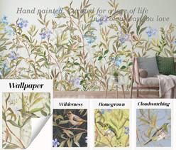 Wallpaper Mariana Wild