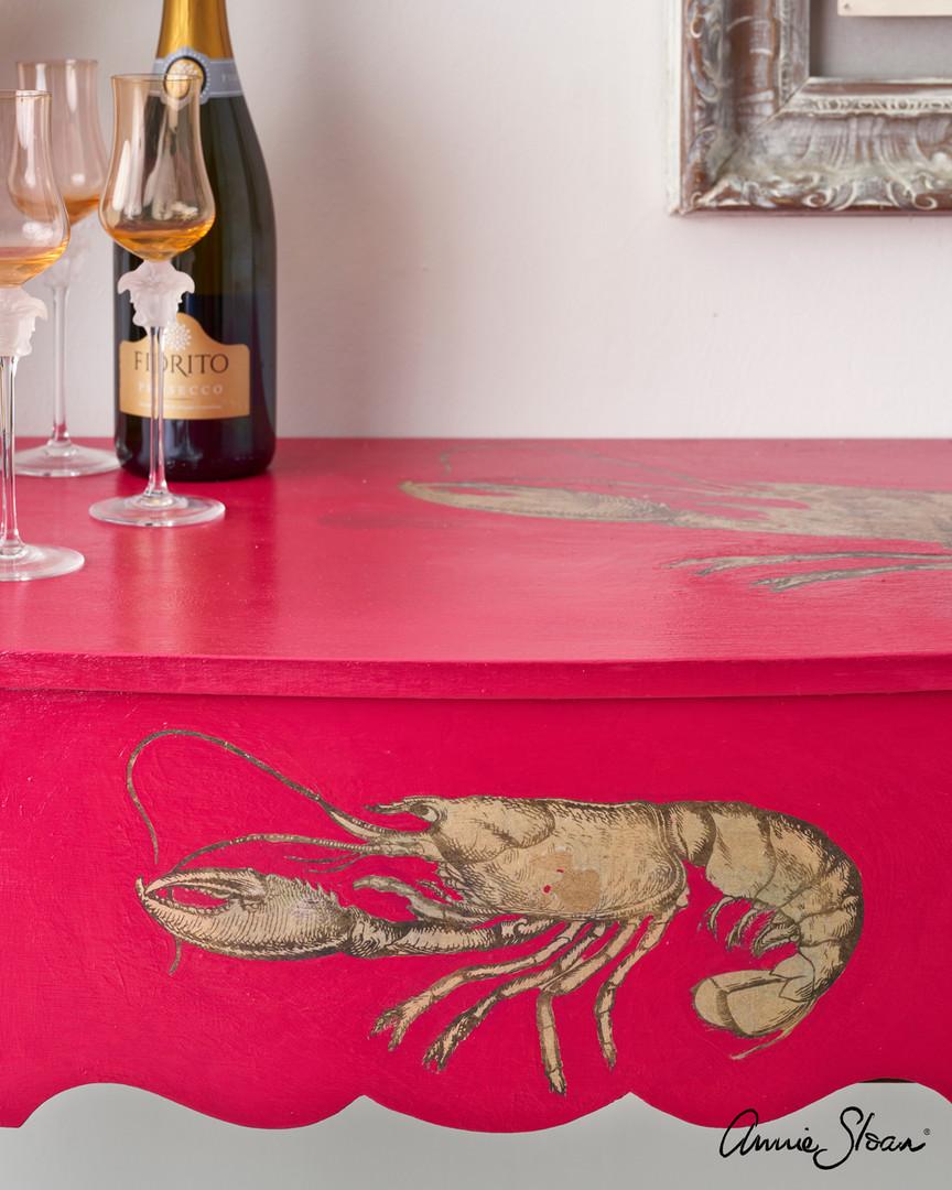 Hollywood-Regency-Capri-Pink-Lobster-Des