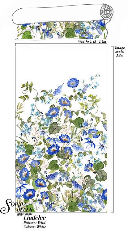 Lindelee Fabric: Wild per meter