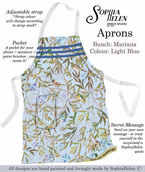 Apron / Mariana / Light Blue
