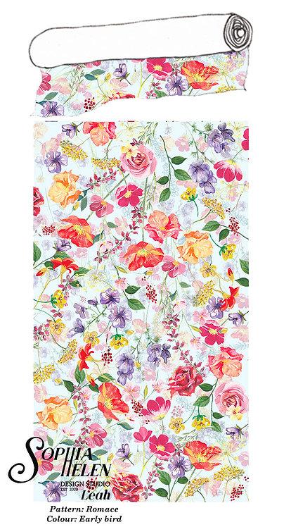 Leah Fabric: Romance per meter