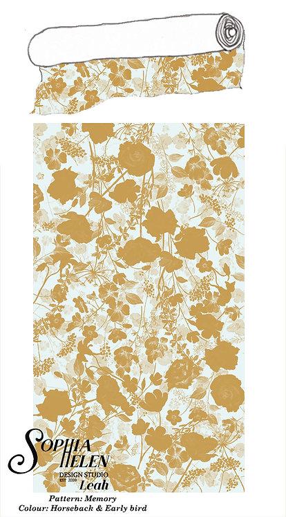 Leah Fabric per meter: Memory