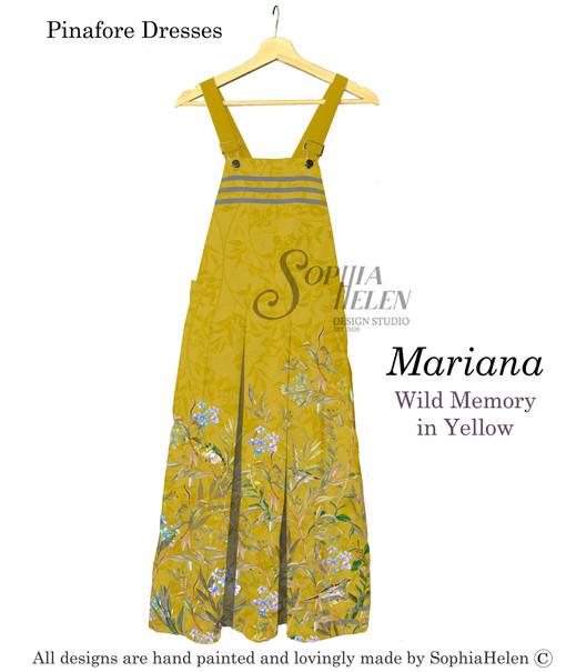 Mariana Pinafore Wild Memory in Yellow.j