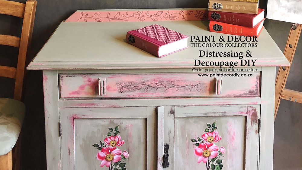 Decoupage & Distressing with Annie Sloan