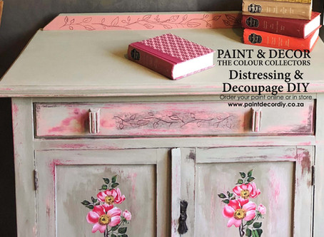 DISTRESS & DECOUPAGE LIKE A PRO