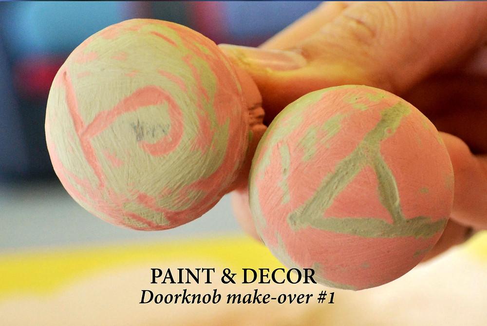 Doorknob make-over number 1