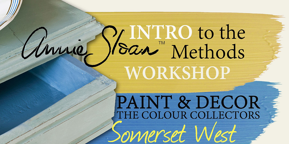 Intro to the Annie Sloan Methods (Somerset West)