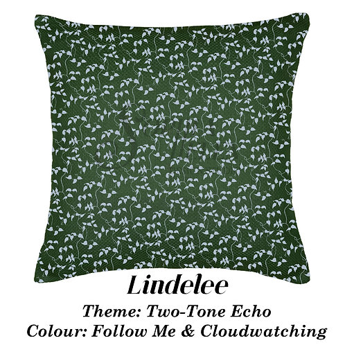 Lindelee in Two-Tone Echo, 100% Cotton scatter