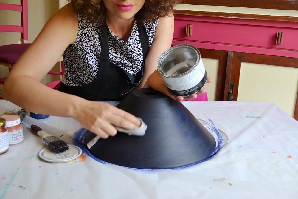 Step 4: Add Annie Sloan Clear Soft Wax
