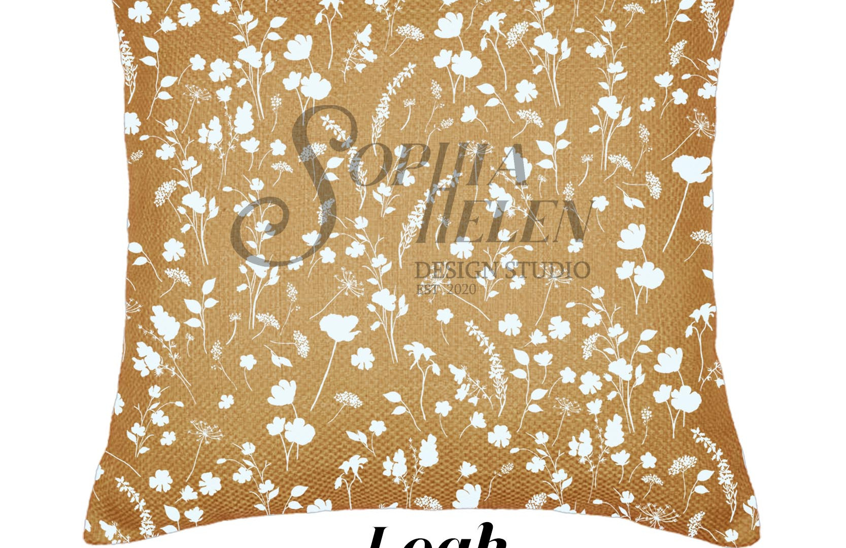 Leah 60 x 60 scatter cushion Two-Tone Ec