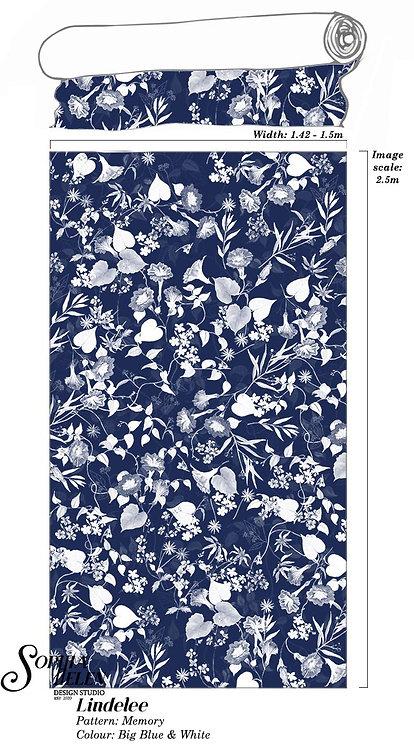 Lindelee Fabric: Memory per meter
