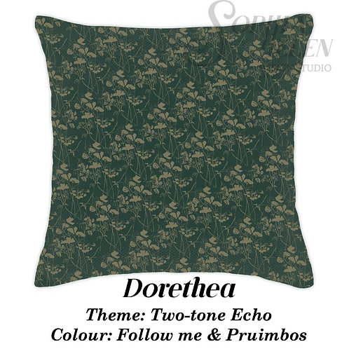 Dorethea Scatter Two-tone Echo Green