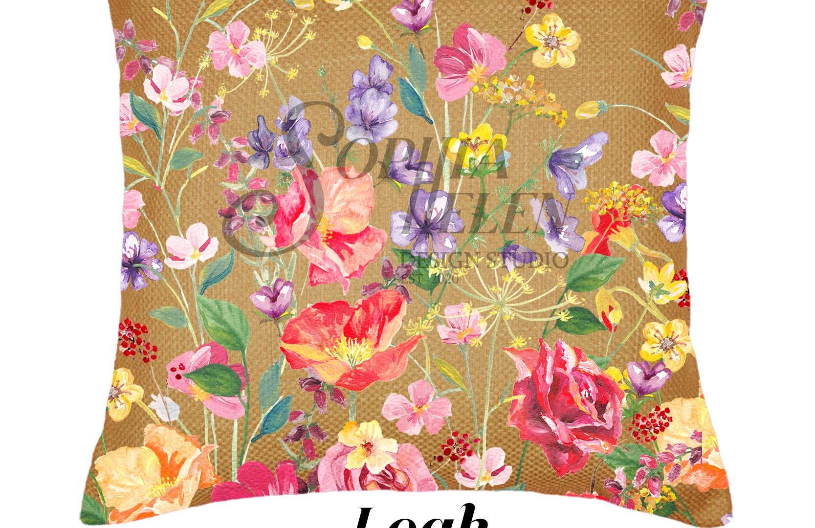 Leah 60 x 60 scatter cushion Wild Horseb