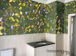 Dorethea wallpaper strip
