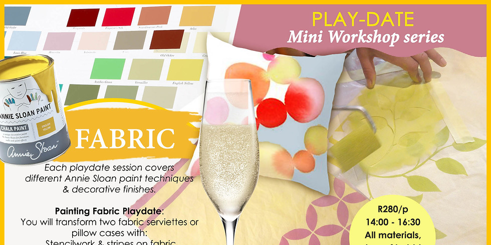 Painting Fabric - Play-Date