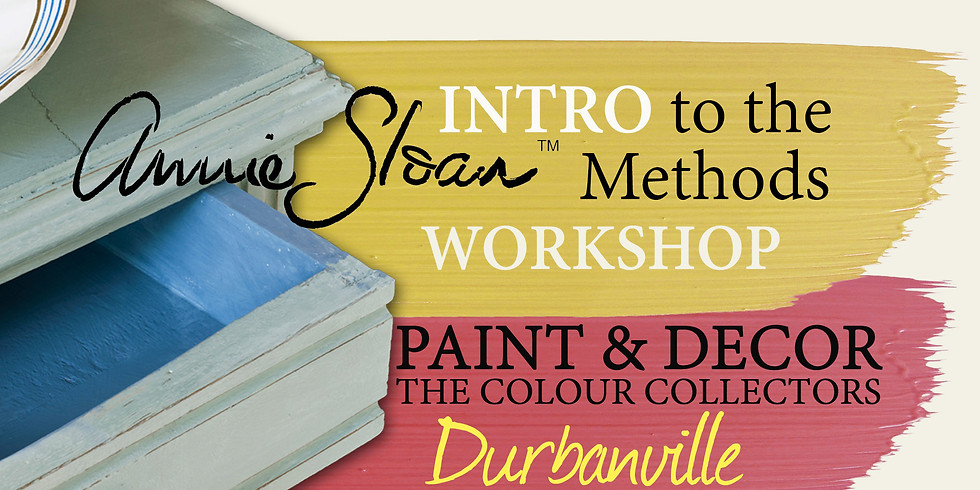 Intro to the Annie Sloan Methods (Durbanville)