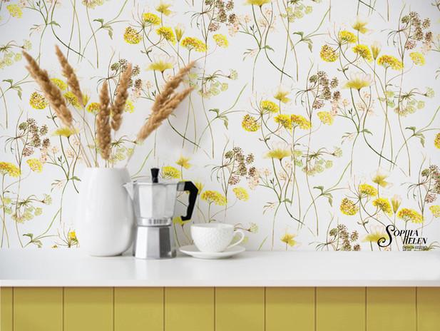 Dorethea Wallpaper yellow Echo.JPG