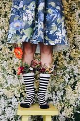 Lindelee Skirt: Wild