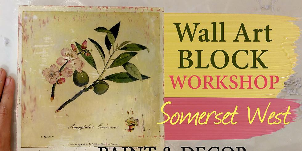 Wall Art Blocks Workshop (Somerset West)