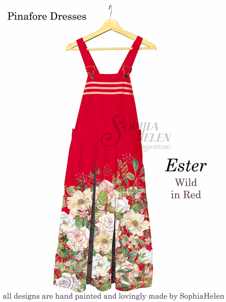 Ester Pinafore Wild Red.JPG