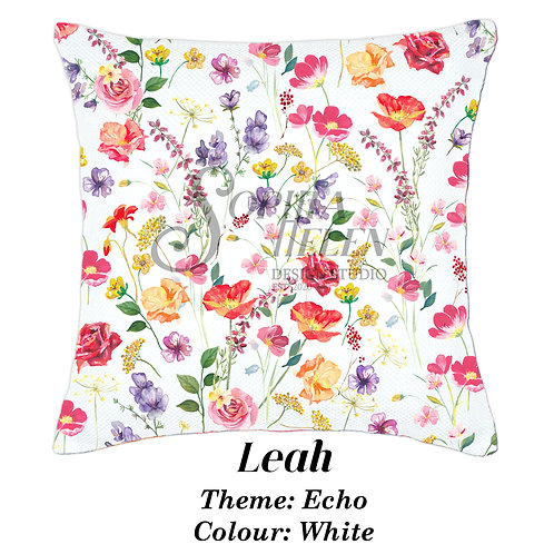 Leah in Echo, 100% Cotton scatter