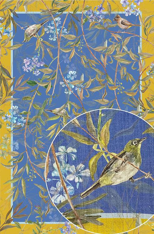 Tea Towel / Mariana / Bright Blue