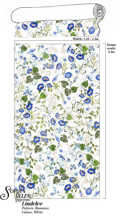 Lindelee Fabric: Romance per meter