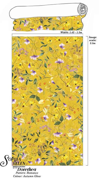 Dorethea Fabric: Romance per meter