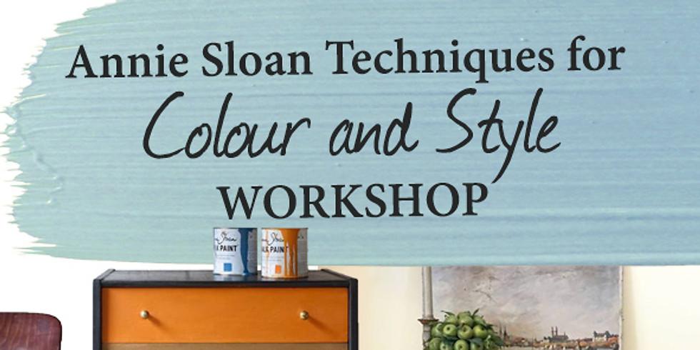 Annie Sloan Techniques for Colour and Style (Durbanville)