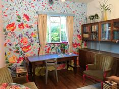 Leah Wallpaper fabric
