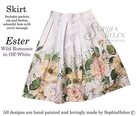 Ester Skirt / Wild  / Off-White