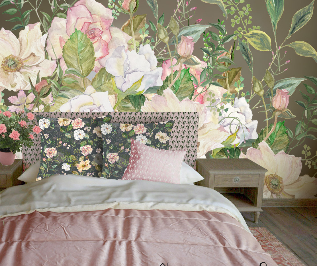 Wild Wallpaper with roses