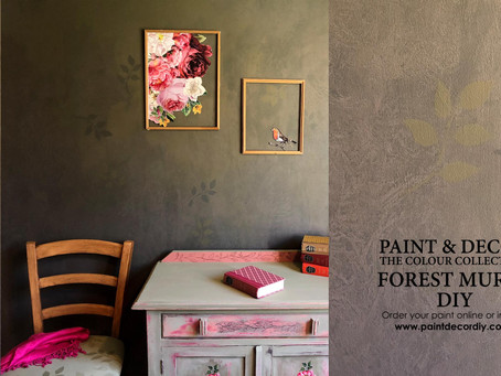 Forest Mural DIY