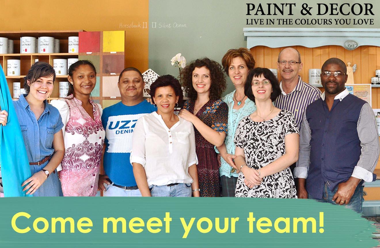 Meet your team