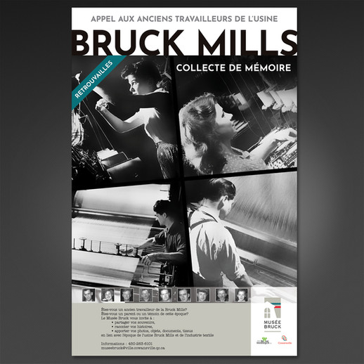 Affiche Musée Bruck