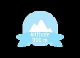 Altitude 1100 m
