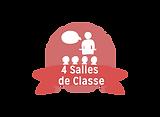 4 salles de Classe