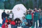 CentreLHC igloo groupe montagne