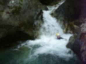 Les gorges de Lavaldens, canyoning