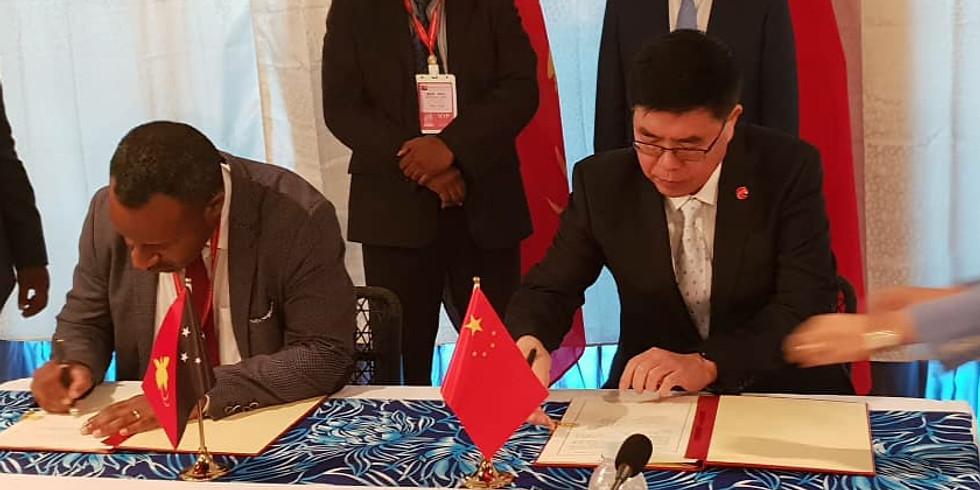 EG signing of MOU